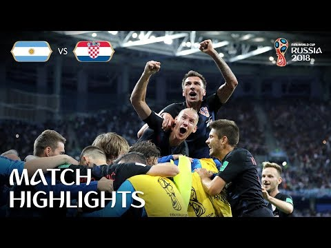 Argentina v Croatia - 2018 FIFA World Cup Russia™ - Match 23