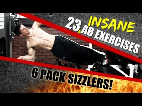 23 INSANE NEW Ab Exercises - Add these to your Ab Workouts!!