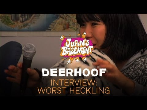 Deerhoof - Interview: Worst Heckling - Juan&#039;s Basement