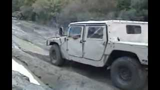 Humvee vs Jeep in mud