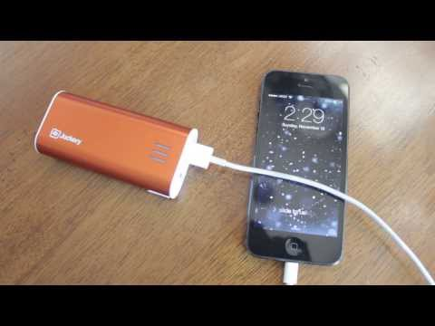 Jackery Bar 5600mAh Portable Power Bank Pack External Battery Review & Unboxing