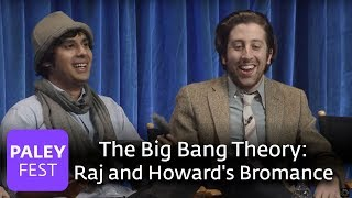 The Big Bang Theory - Simon Helberg and Kunal Nayyar Discuss Their Bromance