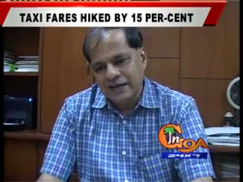 TAXI FARES HIKED BY 15 PER-CENT