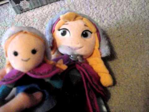Disney Frozen Finger Puppets