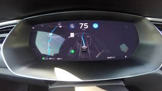 Tesla v9 Beta - Drive by Navigation