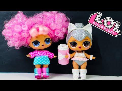 Куклы ЛОЛ Мультик ЭТО КИТИ КВИН? ЛОЛ Сюрприз Распаковка GLAM GLITTER Куклы Игрушки #LOL Surprise