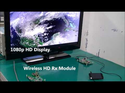 mmW transceiver demonstration_HD video file transmitting and receiving