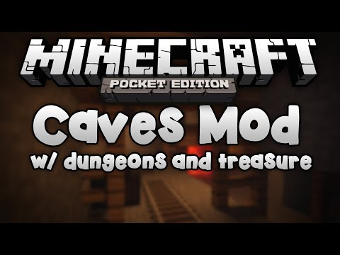 [ 0.8.1] CAVES MOD! - Caves in Minecraft Pocket Edition