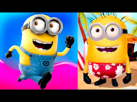 Surfer Minion: Million Points Score! (1,131,246) Despicable Me: Minion Rush Gameplay (ios, Android) video