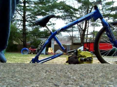 Chainsaw Bike Reconstruction