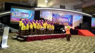 Gerua Dilwale choir song for Majlis Prapelancaran Hari Guru Peringkat Kebangsaan Sabah 2016