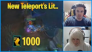 New Teleport's Lit...LoL Daily Moments Ep 900