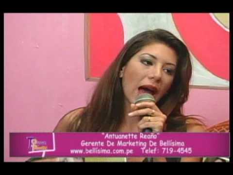 ALFA TELEVISIÓN - TOQUE FEMENINO - Antuanett Reaño - Bellisima - 1.flv