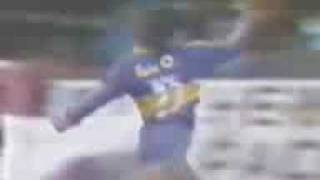 Gol de Comas a Independiente (Boca 1-Indep. 1 14-06-87)