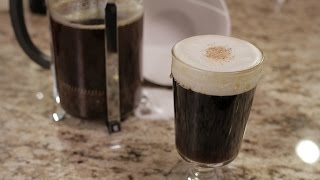 Spanish Coffee with Shaken Cream - The Morgenthaler Method