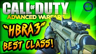 "Advanced Warfare BEST CLASS SETUP - ""HBRa3"" (Accuracy Class) - Call of Duty: Advanced Warfare"