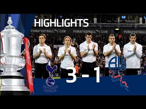 Tottenham 3-1 Bolton - Bale goal & Official FA Cup Sixth Round highlights | FATV