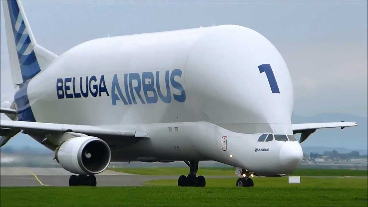Zero Gravity Plane >> Airbus A300-600ST Beluga at Clermont-Ferrand Auvergne Airport LFLC CFE - YouTube
