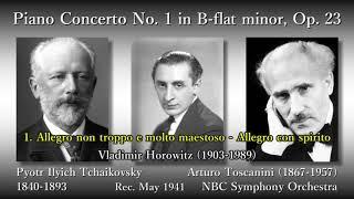 Tchaikovsky: Piano Concerto No. 1, Horowitz & Toscanini (1941) チャイコフスキー ピアノ協奏曲第1番 ホロヴィッツ