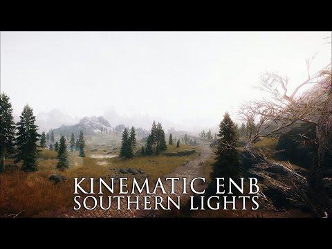 TES V - Skyrim Mods: Kinematic ENB - Southern Lights