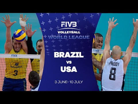 Brazil v USA highlights - FIVB World League