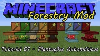 Forestry - Tutorial 01 - Introdução e Arboretum - Plantações de Árvores Automáticas (PT-BR)