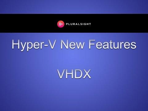 Convert the Hyper-V Virtual Hard Disk to VHDX