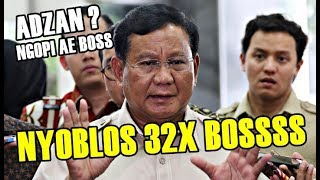 Rakyat Makin Kecewa! Prabowo Ngopi Saat Adzan dan Nyebar Hoax Nyoblos 32 Kali