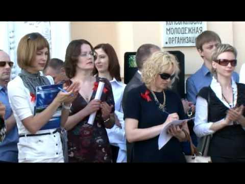 Открытие движения первого дизель-поезда ДП1 на участке Калинковичи–Словечно, 1 мая 2012 года, г. Калинковичи