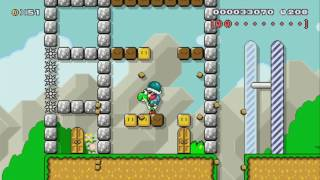 Forest of Wisdom Reloaded by Titacho ~ SUPER MARIO MAKER ~ NO COMMENTARY