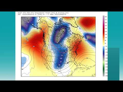 January 22, 2019 Weather Xtreme Video - Afternoon Edition