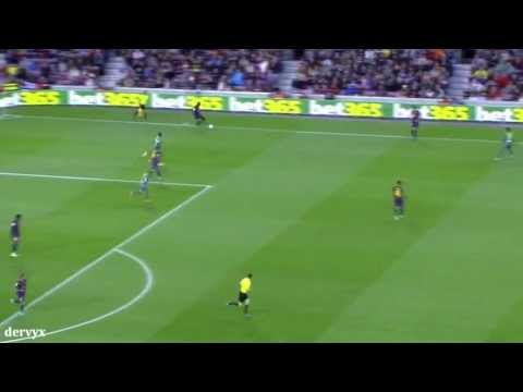 Eric Abidal interceptions vs Levante