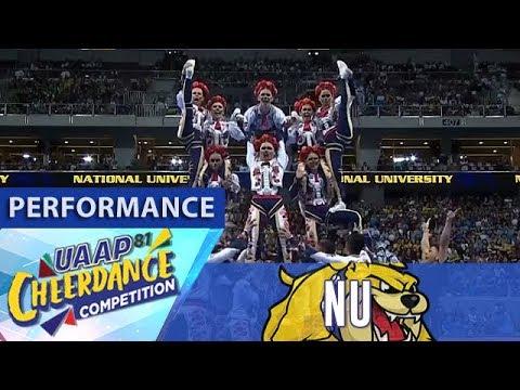 UAAP C Season 81: NU Pep Squad   Performance