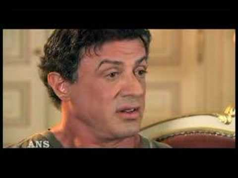 STALLONE DISCUSSES RAMBO VERSUS ROCKY