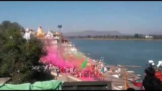 The holi song  shooting of movie Toilet ek prem katha  Video song