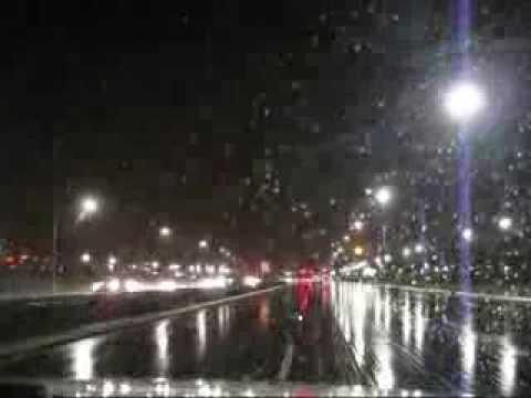 Evening Heavy Rain & Thunderstorms in San Jose, CA (February 26, 2014)
