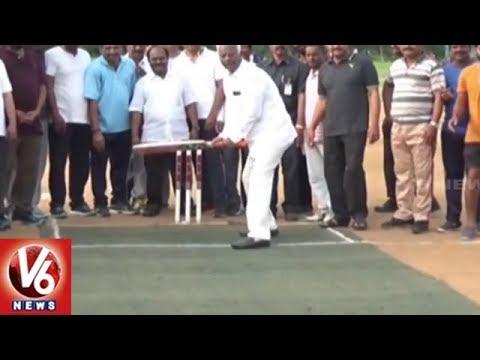 Dy CM Kadiyam Srihari Plants Saplings At Hanamkonda Arts College | Warangal | V6 News