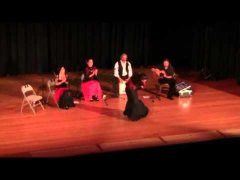 Fanny Ara - Solea por Bulerias - Willits, CA - July 27, 2012 - Caminos Flamencos