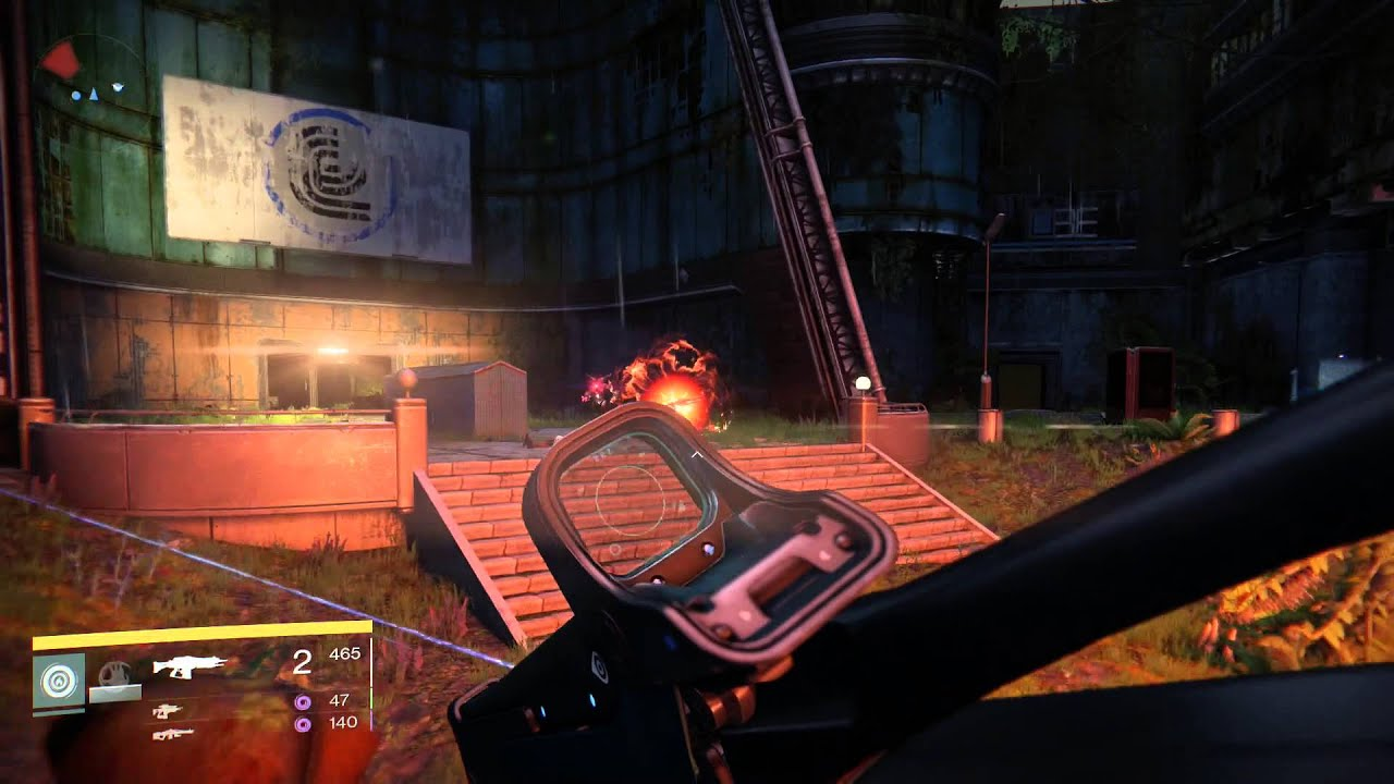 Destiny hard light exotic weapon gameplay youtube