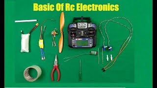 How To Make Rc Plane In HIndi ! ????????Basics Of Rc Electronics????????
