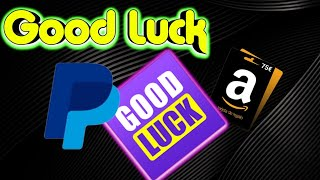 Good Luck app comprobante de pago