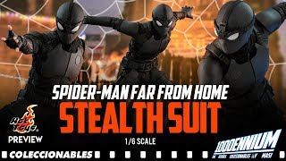 HOT TOYS SPIDER-MAN FAR FROM HOME STEALTH SUIT PREVIEW