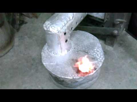 Буржуйка+печка на отработке , отопление гаража
