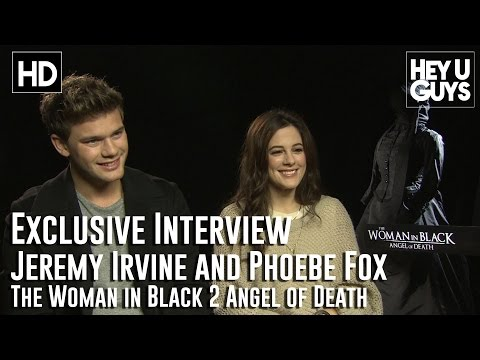 Jeremy Irvine and Phoebe Fox Interview - The Woman in Black 2 Angel of Death