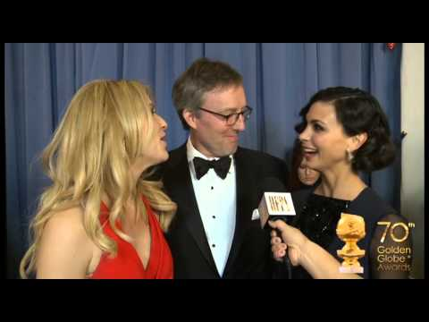 Backstage at the Globes, exclusive: winners' first reaction