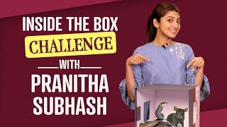 Pranitha Subhash: Inside the Box Challenge | Bollywood | Pinkvilla | Lifestyle | Fashion
