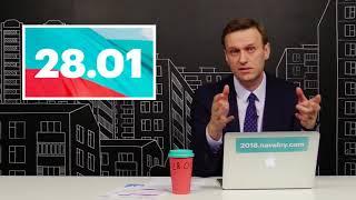 Навальный: про давление на штабы и важность акции 28 января