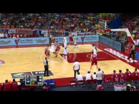Dominican Republic Vs. Russia / 2012 FIBA Olympic Qualifying Tournament