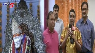 Ganesh Navratri Chaturthi Utsavalu in New Jersey Shirdi Sai Baba Temple, USA