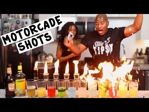 The Motorcade Shots - Tipsy Bartender